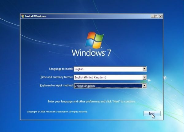 operating system installation services