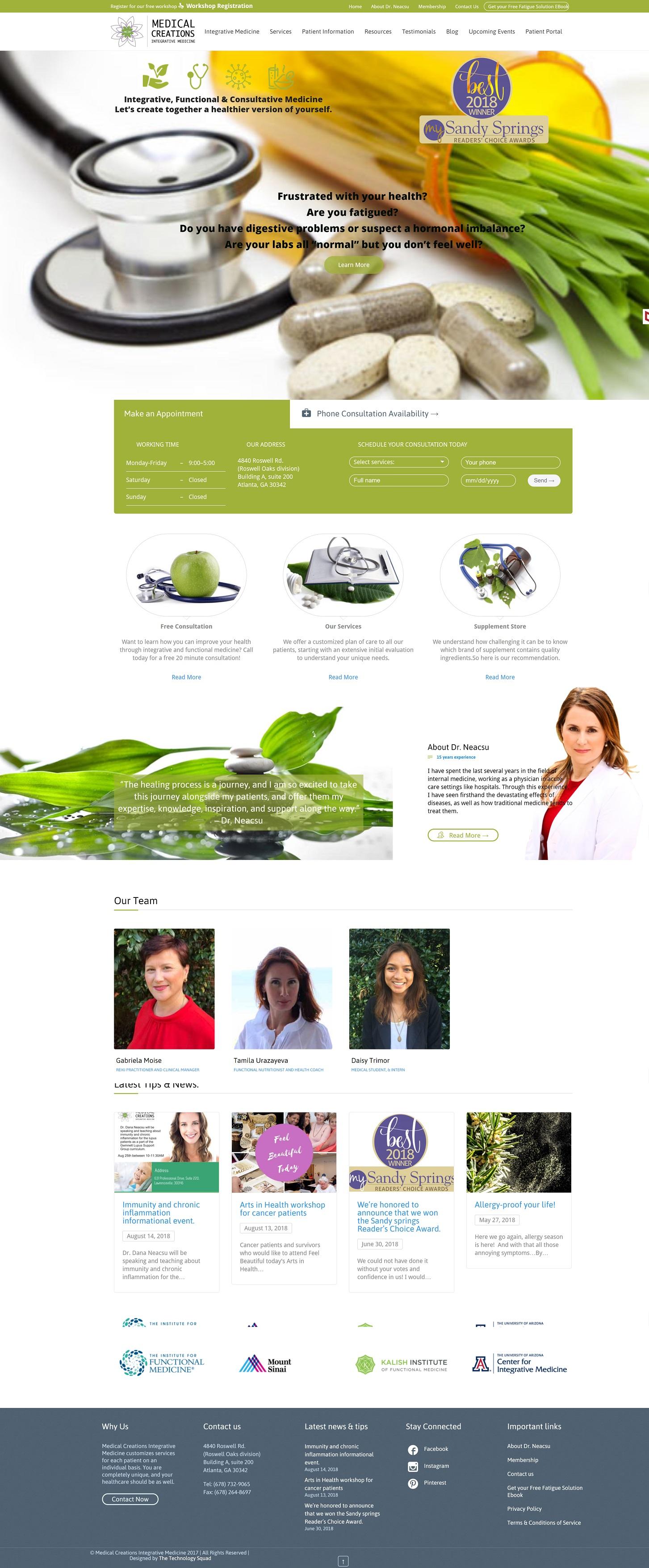 Medical Creations Integrative Medicine